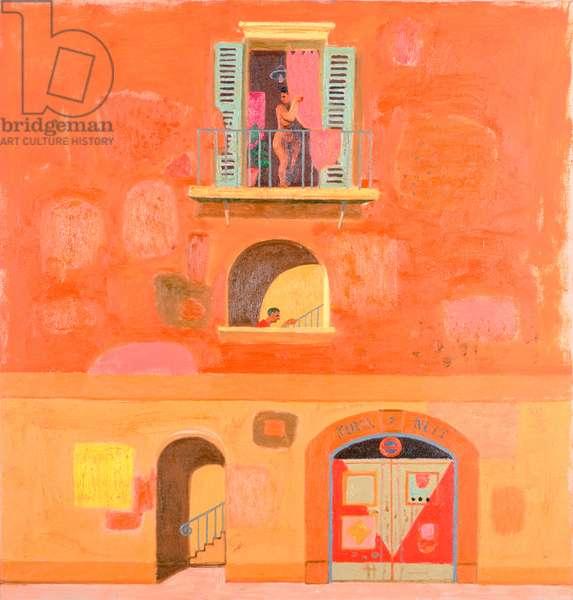 Assignation and Jour et Nuit, 2001 (oil on canvas)