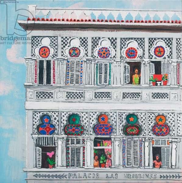 Palacio Las Ursulinas (oil on canvas)