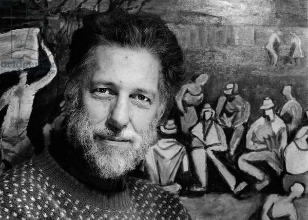 Julian Trevelyan, 1962 (b/w photo)