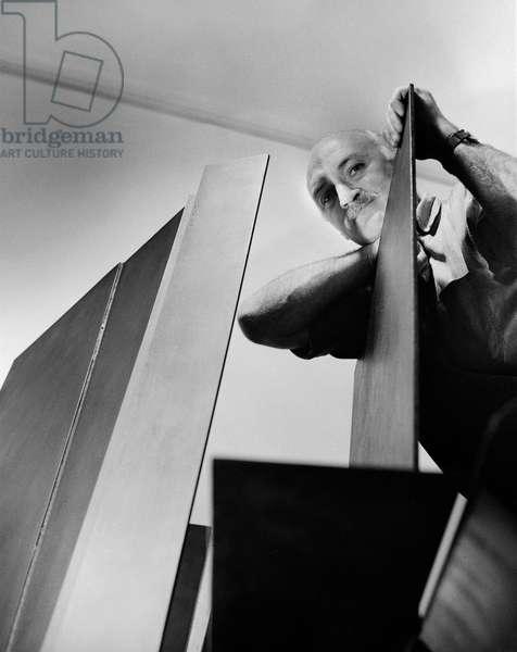 Robert Adams, 1963 (b/w photo)