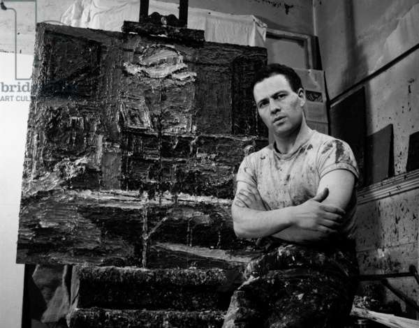 Frank Auerbach (b/w photo)