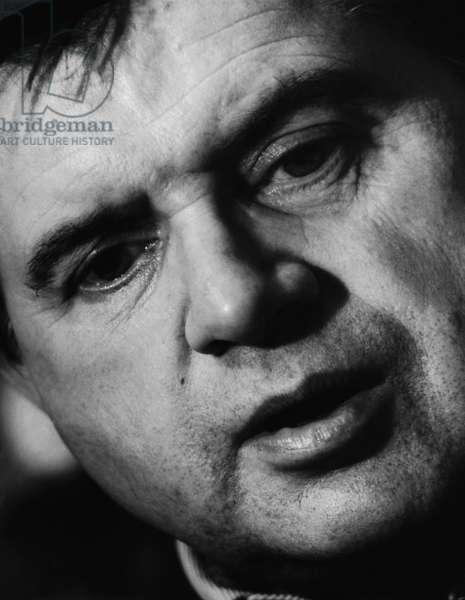 Francis Bacon, 1967 (b/w photo)