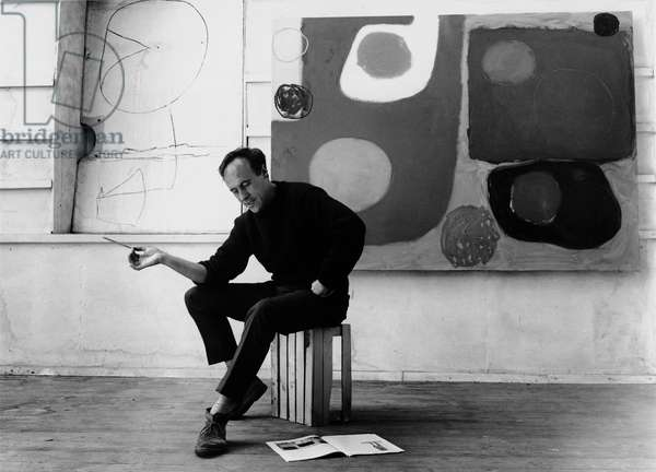 Patrick Heron, 1963 (b/w photo)