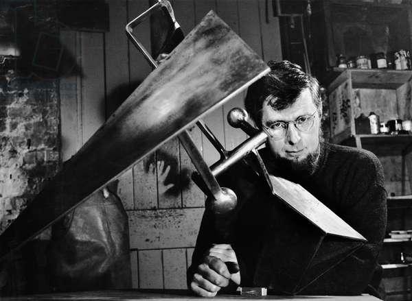 Bryan Kneale, 1964 (b/w photo)