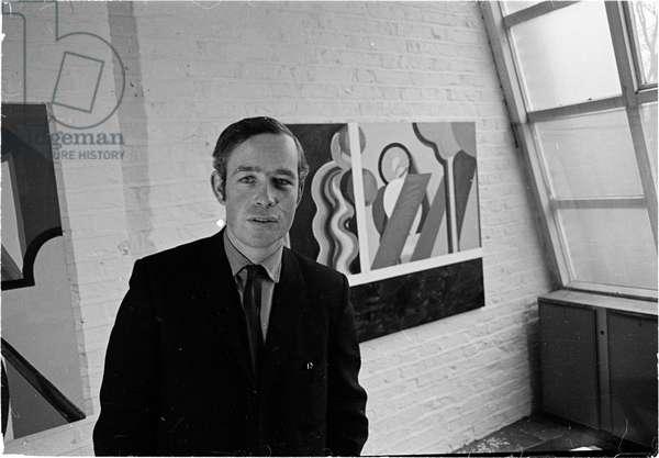 Howard Hodgkin, 1969 (b/w photo)