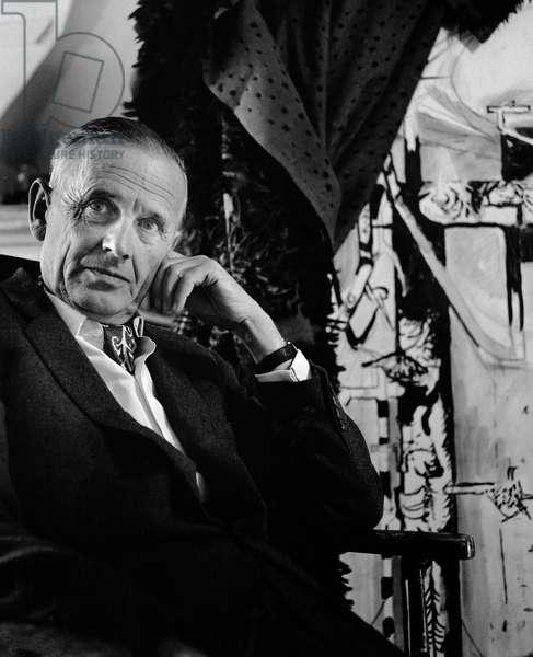 Graham Sutherland, 1967 (b/w photo)