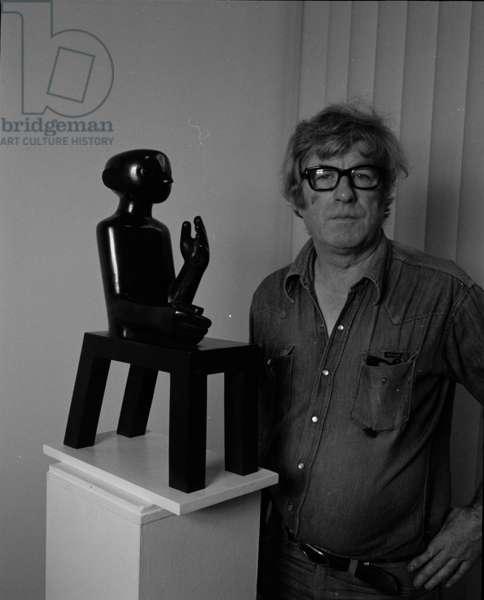 Kenneth Armitage, September 1980 (b/w photo)