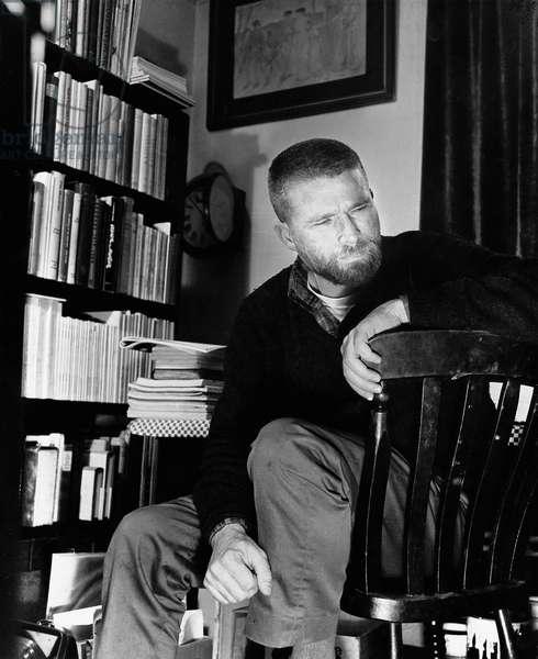 R. B. Kitaj, 1963 (b/w photo)