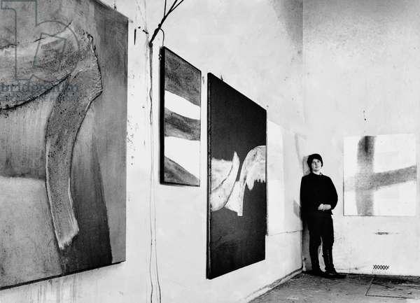 Sandra Blow, 1963 (b/w photo)