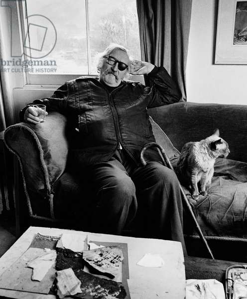 Harry Thubron, 1983 (b/w photo)
