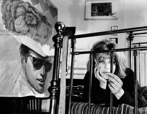 Pauline Boty, 1963 (b/w photo)