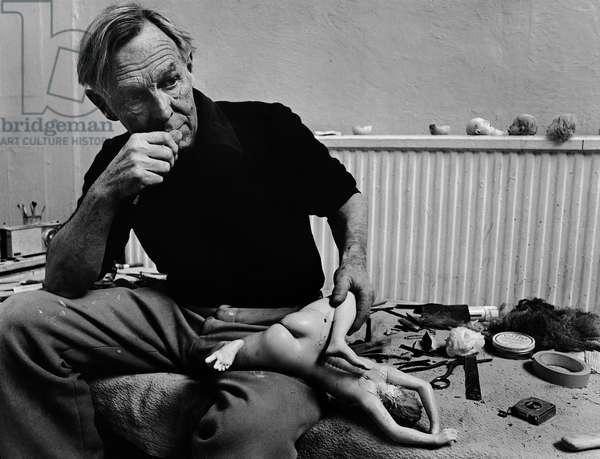 Reg Butler, 1977 (b/w photo)