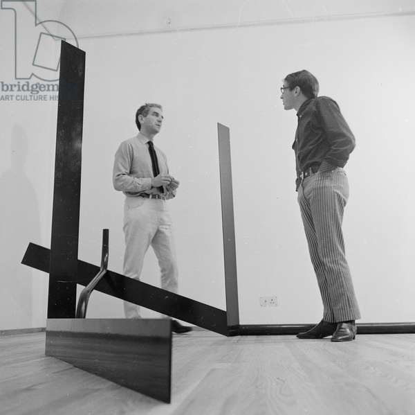 Anthony Caro, 1967 (b/w photo)
