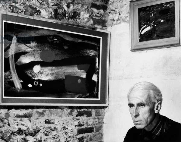 John Piper, 1962 (b/w photo)