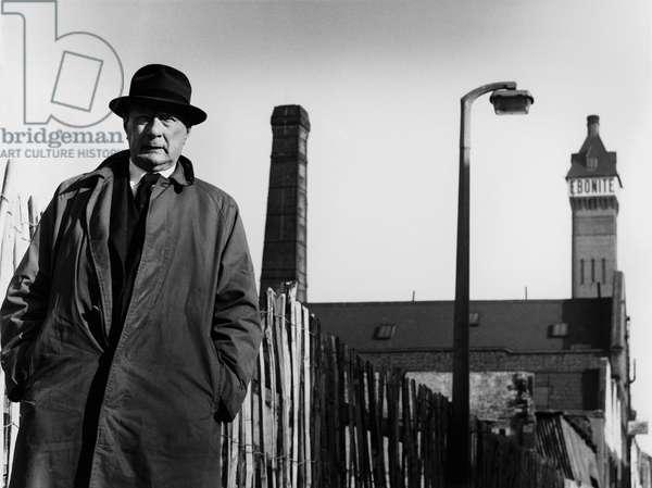 L. S. Lowry, 1964 (b/w photo)