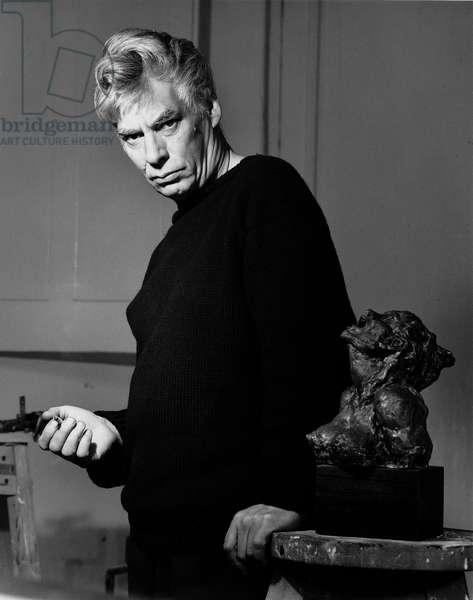 Bill Redgrave (b/w photo)