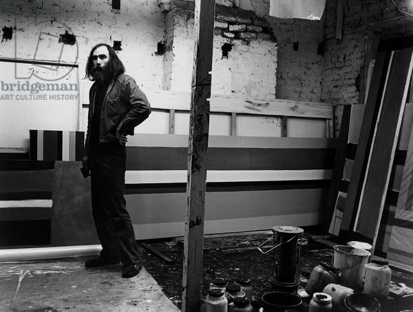 Fred Pollock, 1974 (b/w photo)
