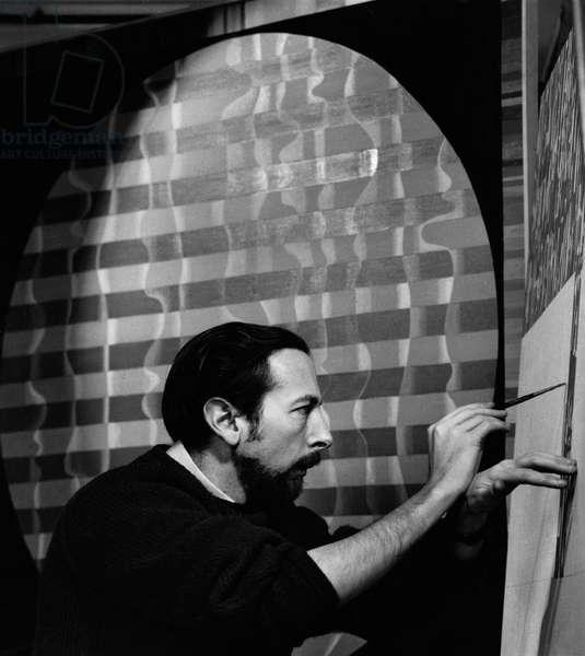 Jack Smith, 1963 (b/w photo)