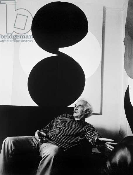 Terry Frost, 1974 (b/w photo)