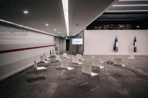 Couvre-feu 18h / conference de presse