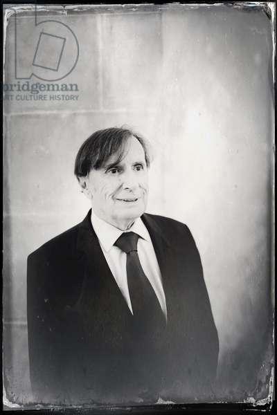 Portrait of Daniel Rondeau (Grand prix 2017 du roman de l'Academie francaise) 26/10/2017