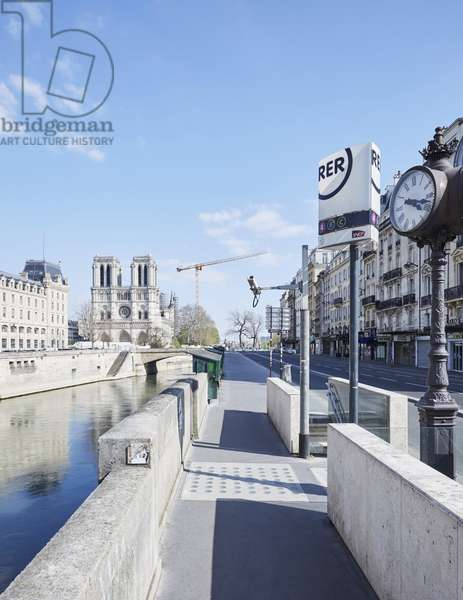 Paris en confinement au temps du Covid19