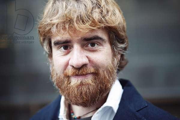 Portrait of Paolo Cognetti (Prix Medicis etranger 2017) 09/11/2017
