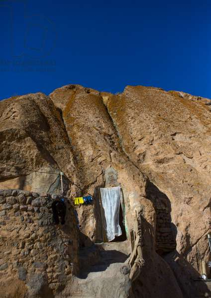 Carved Home In The Village Of Kandovan, Iran, 2013 (photo)