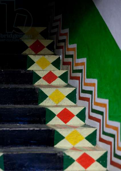 Bin Hamsan House Decoration, Asir Area, Saudi Arabia (photo)
