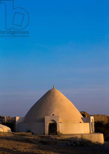 Water Reservoir In Iranian Traditional Architecture, Qeshm Island, Laft, Iran, 2015 (photo)