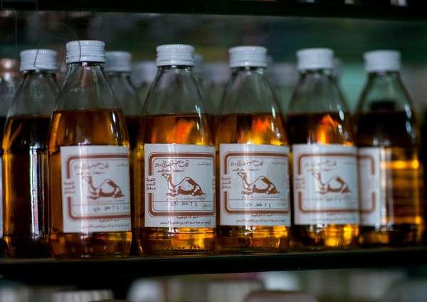 Camel Oil, Riyadh Souk, Saudi Arabia (photo)