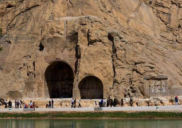 Carved Alcoves, Taq-E Bostan, Kermanshah, Iran, 2013 (photo)