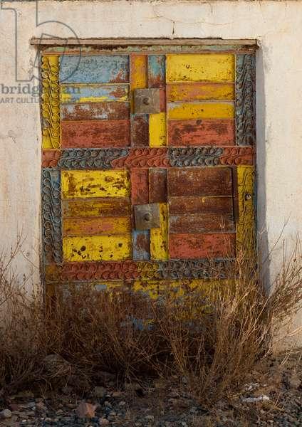 Old Door in Village in Asir Area, Saudi Arabia (photo)