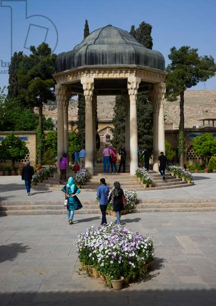 Tomb Of Persian Poet Hafez, Fars Province, Shiraz, Iran, 2015 (photo)