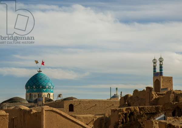 Mosques In The Old Town, Ardakan County, Aqda, Iran, 2016 (photo)