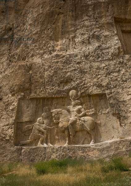 The Triumph Of Shapur Over The Roman Emperor Valerian And Philip The Arab, Fars Province, Shiraz, Iran, 2015 (photo)