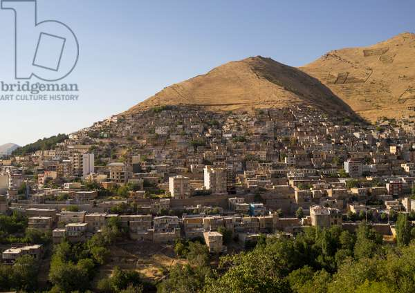 Paveh Old Town On The Hill, Iran, 2013 (photo)