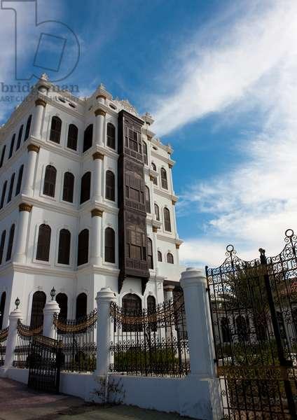Shobra Palace in Taif Hejaz Area, Saudi Arabia (photo)