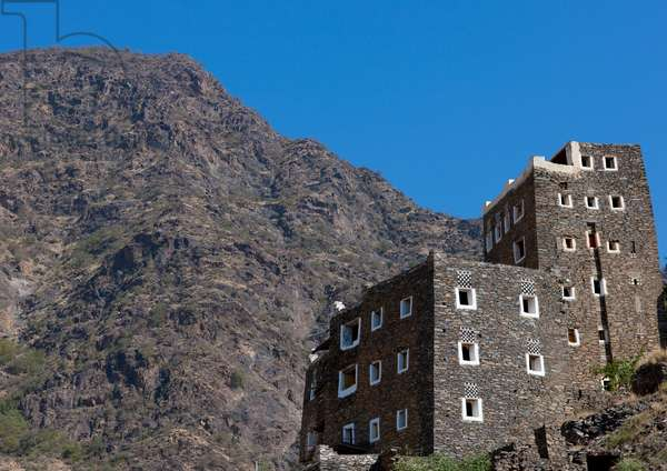 Rijal Alma Village, Saudi Arabia (photo)