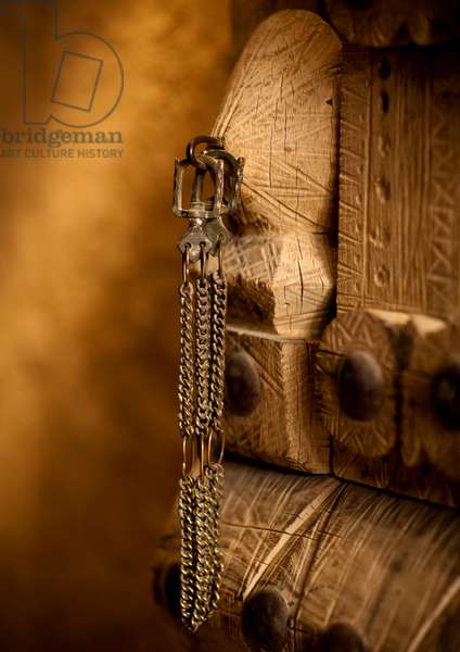 Old Door in Musmak Fort, Riyadh, Saudi Arabia (photo)