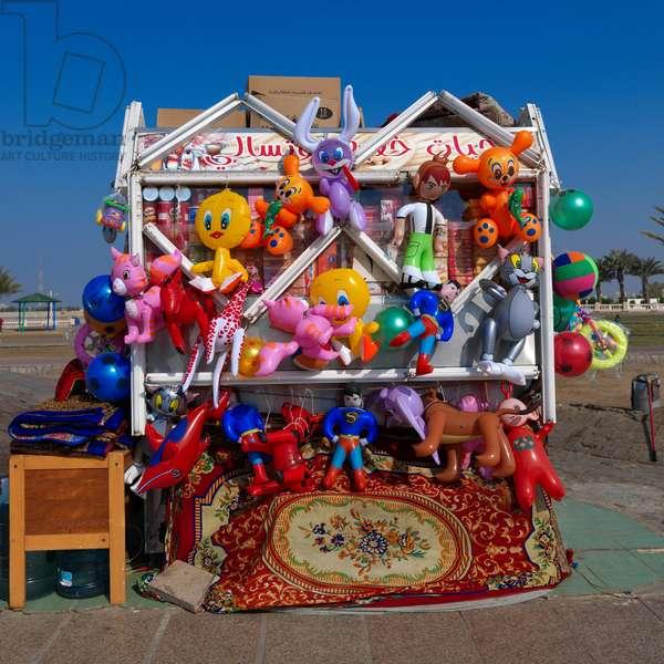 Beach Toys Shop in Jeddah, Saudi Arabia (photo)