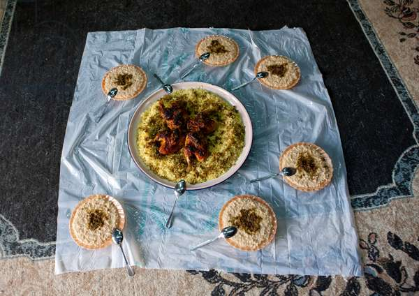 Traditional Food in Saudi Arabia (photo)