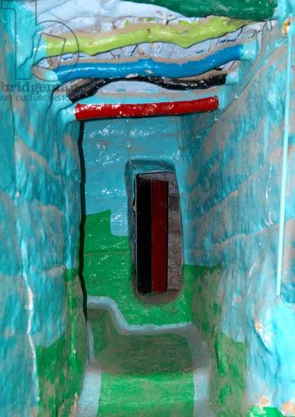 Inside An Asir Area House, Saudi Arabia (photo)