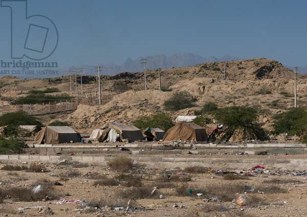 Gyspy Camp Outside Of The Town, Central County, Kerman, Iran, 2016 (photo)
