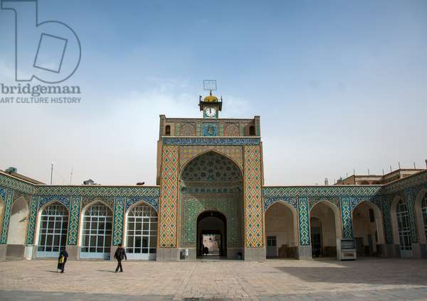 Courtyard Of The Friday Mosque, Central County, Kerman, Iran, 2016 (photo)