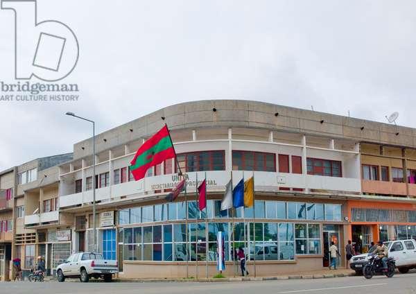 Headquarters of Unita in Huambo, Angola, Africa (photo)
