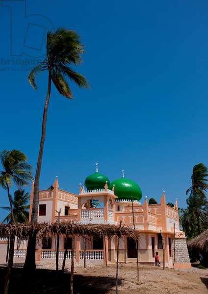 Mosque in pate, Lamu, Kenya, Africa (photo)
