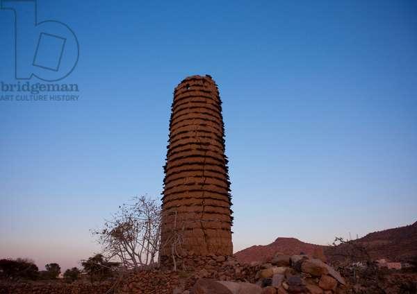 Old Tower near Abha, Asir, Saudi Arabia (photo)