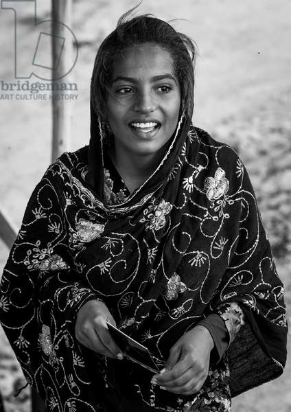 Young Smiling Woman, Qeshm Island, Salakh, Iran, 2015 (photo)