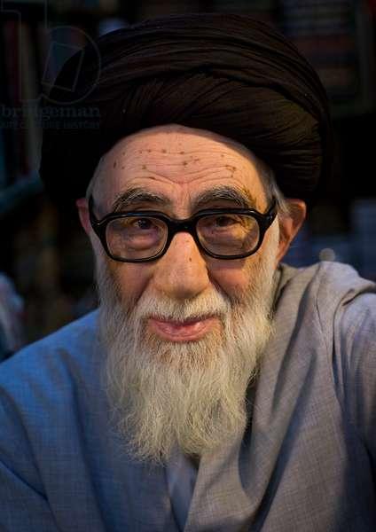 Old Religious Man Inside The Old Bazaar, Tabriz, Iran, 2013 (photo)